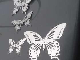 激光镂空蝴蝶摆件