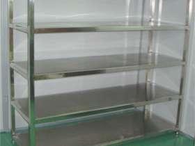 厨房多层不锈钢货架子制品加工