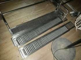 不锈钢加工件:商用不锈钢百叶排风口