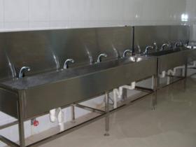 学生宿舍不锈钢水池多少钱一米