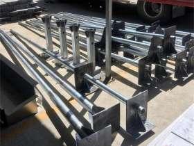 避雷针支架和底座配件的施工工艺