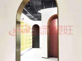 北京不锈钢厂家批发弧形垭口不锈钢门套
