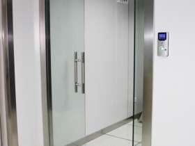 玻璃门不锈钢门套包边 201不锈钢材质