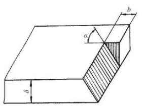 坡口的气割技术