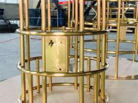 保定金利恒不锈钢加工厂加工的不锈钢茶具
