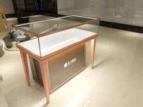 304不锈钢玻璃展柜北京制作厂家