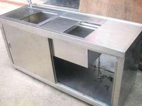 厨房餐厅不锈钢储物柜