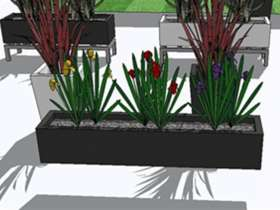 不锈钢花坛设计注意事项