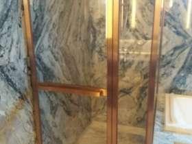 玻璃门不锈钢包门套线制作工艺