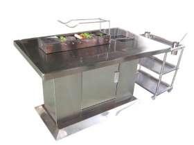 不锈钢烧烤桌