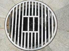 304不锈钢圆形下水道篦子