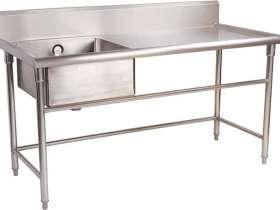 厨房304不锈钢洗手盆
