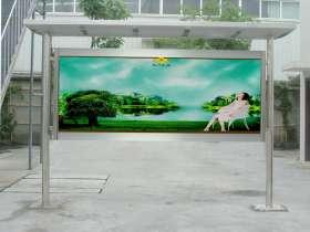 北京不锈钢宣传栏制作厂家