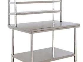 家用不锈钢制品:厨房不锈钢台面立架