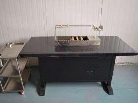 金属烤漆烧烤桌
