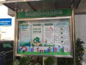 北京垃圾分类宣传栏图片