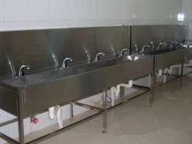 学校宿舍不锈钢水槽多少钱一米
