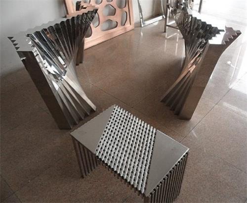 高档拉丝不锈钢小桌子