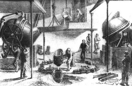 锻钢和不锈钢加工的历史