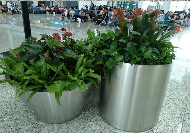 不锈钢大花盆图片4