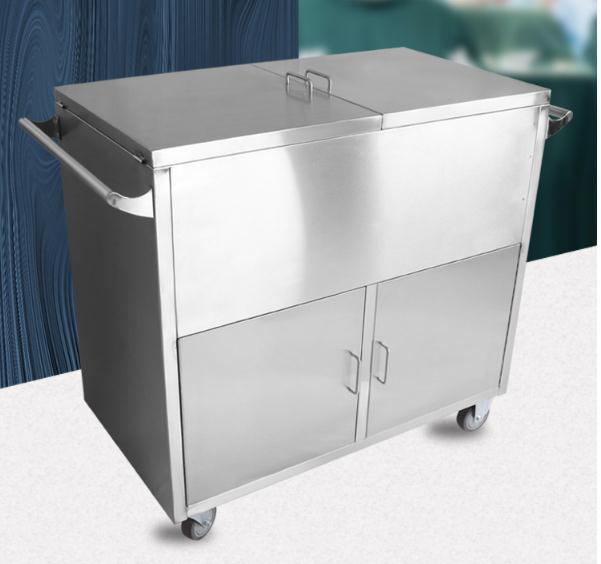 医用不锈钢推车 无菌柜推车 储物柜转运推车